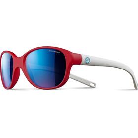 Julbo Romy Spectron 3CF Sunglasses Kids 4-8Y Matt Red/Matt White-Multilayer Blue